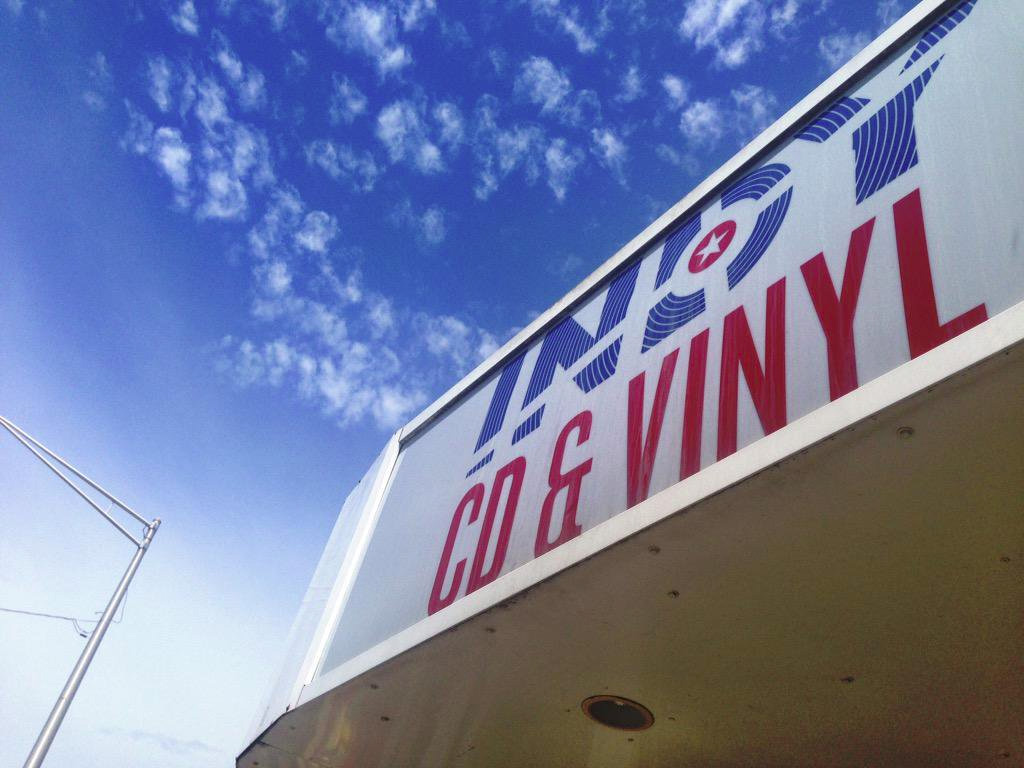 Indy CD & Vinyl Sign