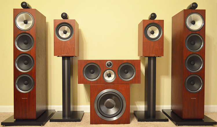 Bowers & Wilkins 700 Series 2 Speaker System Review - Cheap