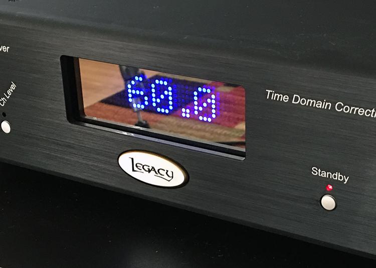 Legacy Wavelet front display