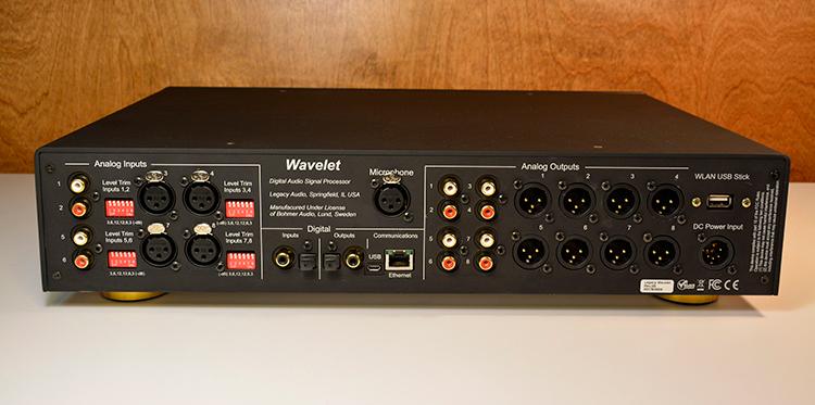 Legacy Wavelet back panel