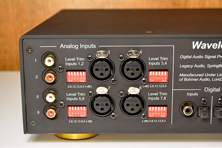 Legacy Wavelet analog inputs
