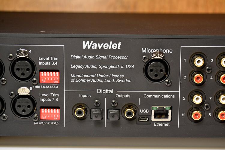 Legacy Wavelet digital inputs/outputs