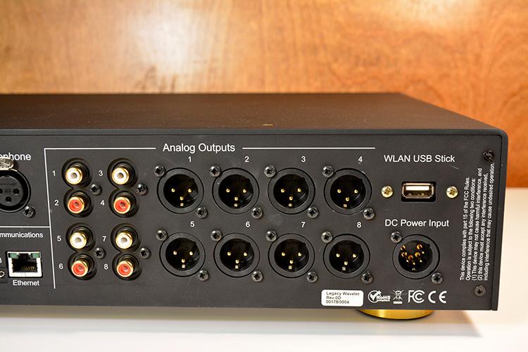 Legacy Wavelet analog outputs