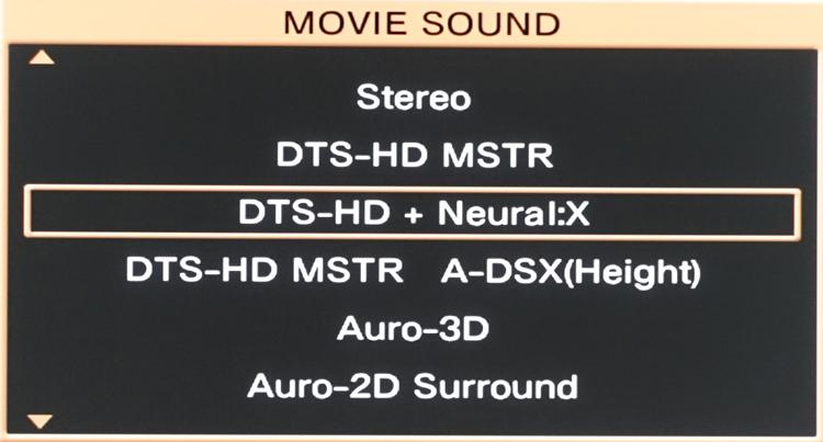 Marantz AV8802 Neural:X Sound Mode