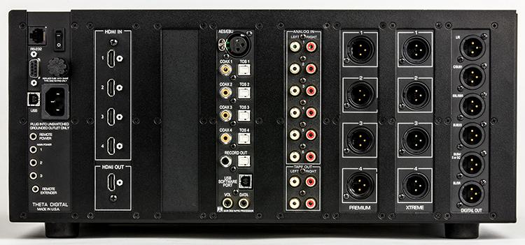 Theta Casablanca IV Surround Sound Processor Review