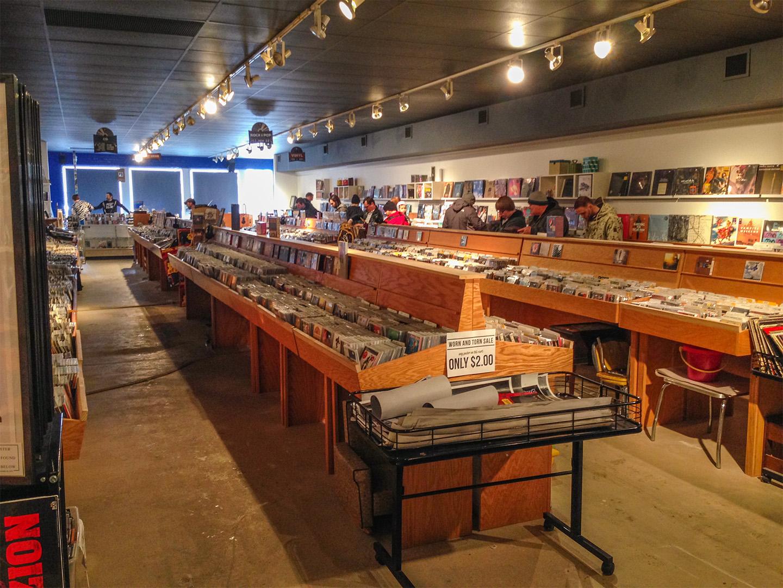 Indy CD & Vinyl inside 1 social