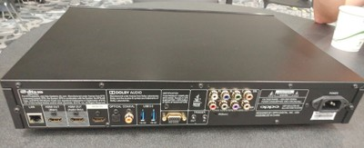 Oppo UDP-203 Ultra HD Blu-ray Back View