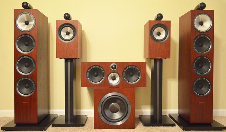 B&W 700 S2 system