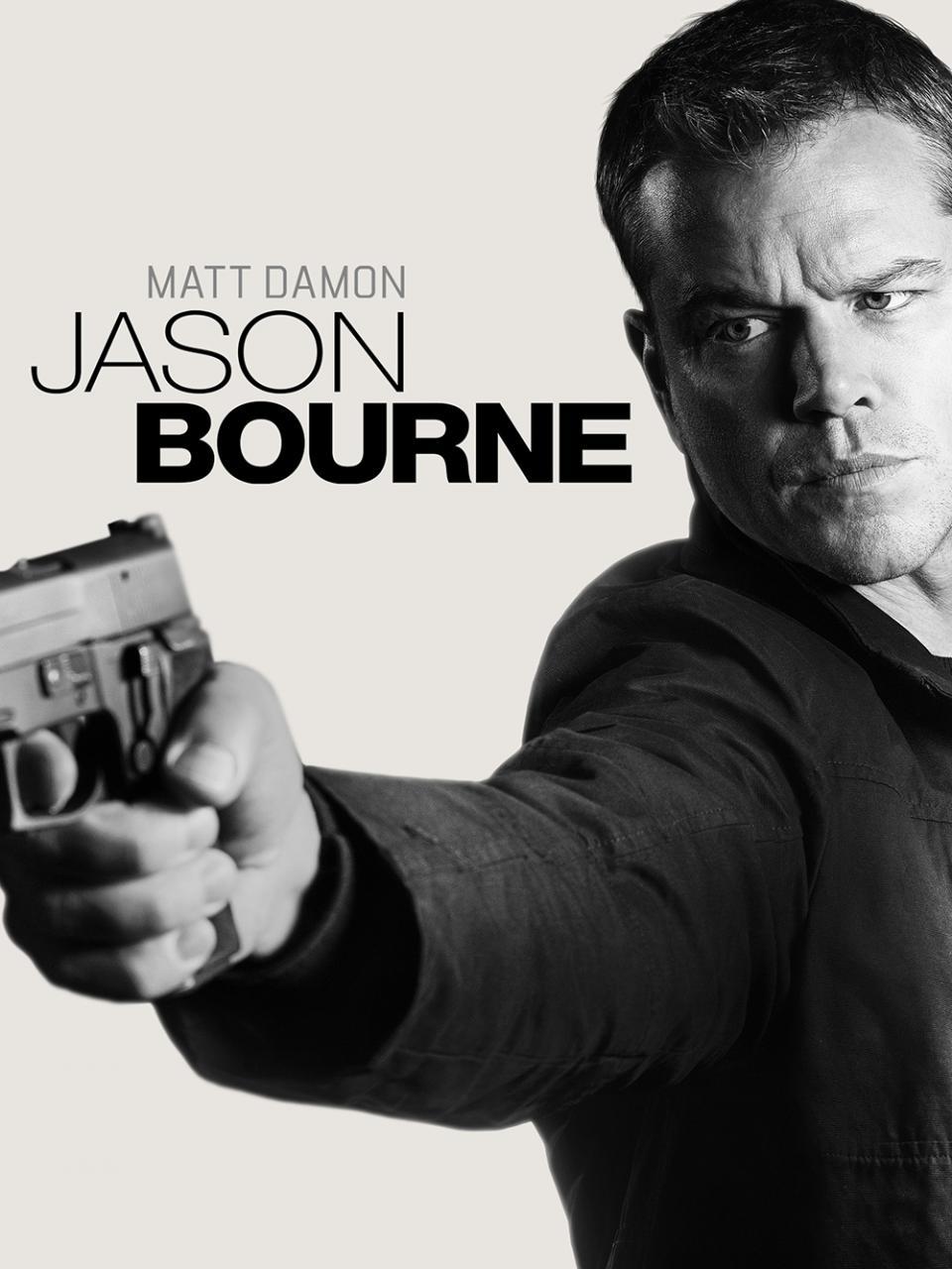 Jason Bourne (2016) movie cover