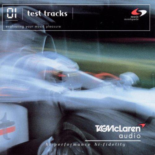 McLaren 01 Test Tracks (1999) album cover