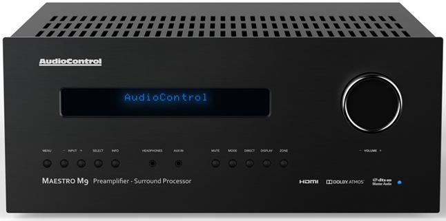 AudioControl Maestro M9 Surround Sound Processor - Front View