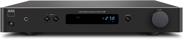 NAD C 338 Hybrid Digital Integrated Amplifier - Front