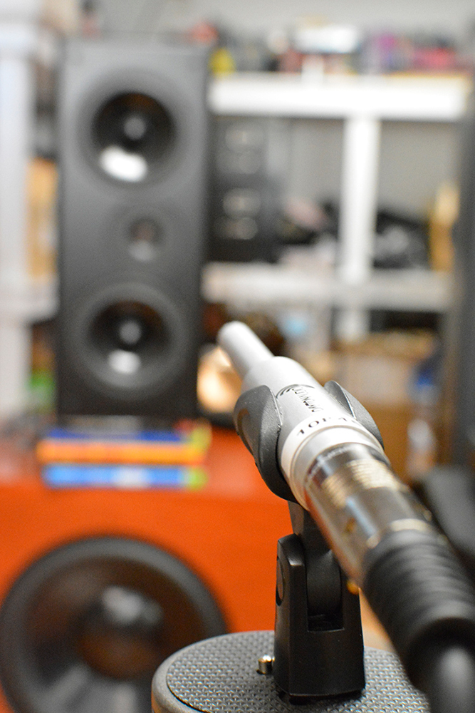Legacy Wavelet microphone, close up