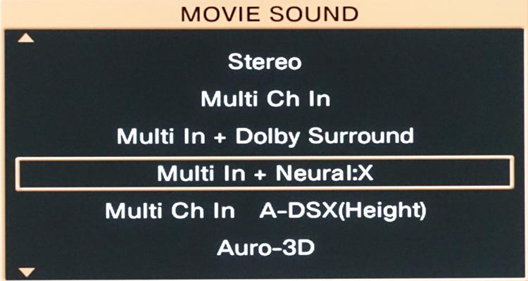 Marantz AV8802 Neural:X and Dolby Surround Coexisting using PCM
