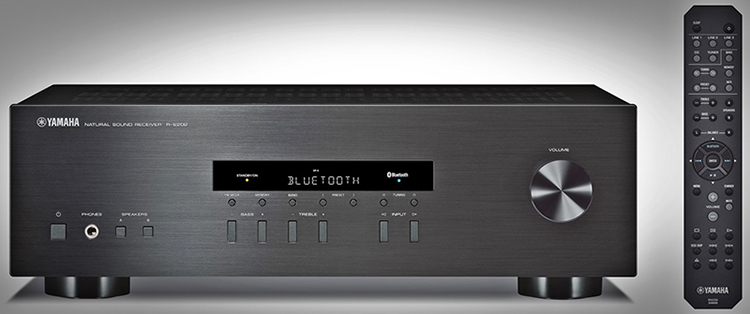 Yamaha R-S202 Stereo Receiver - Front View